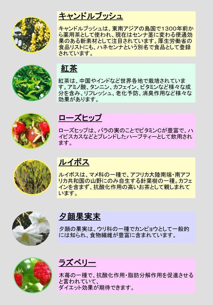 うんちのお茶原材料画像